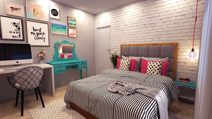 Projeto quarto de adolescente  Canal Diycore