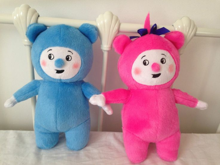 Still want these for Jax, he loves Billy and Bam Bam Bam 11 Inch Soft Toy Plush Handmade Tv Pink Blue Billy Bambam Ebay