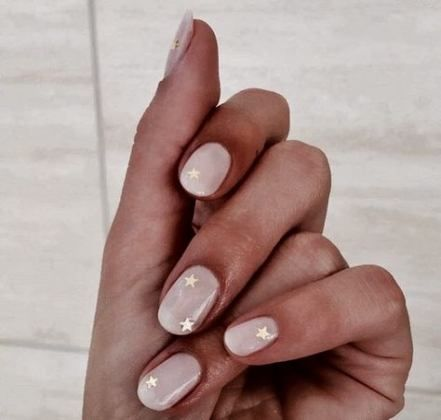40 ideas for nails almond design  minimal nails
