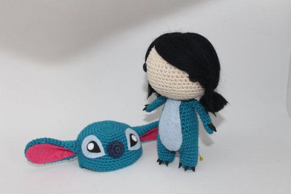 Mira este artículo en mi tienda de Etsy: https://www.etsy.com/es/listing/493668003/amigurumi-stitch-personalizable