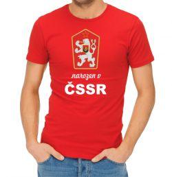 Tričko narozen v ČSSR