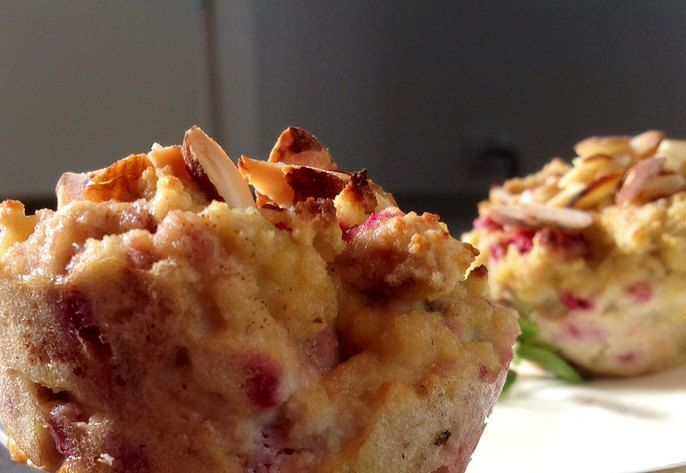 Sugar Free Berry Breakfast Muffins