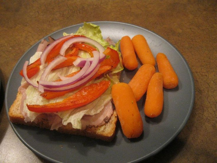 Beef and dijon sandwich.