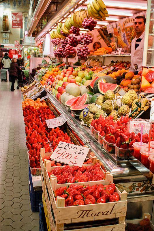 The Central Market (Mercardo Central. Valencia, Spain)