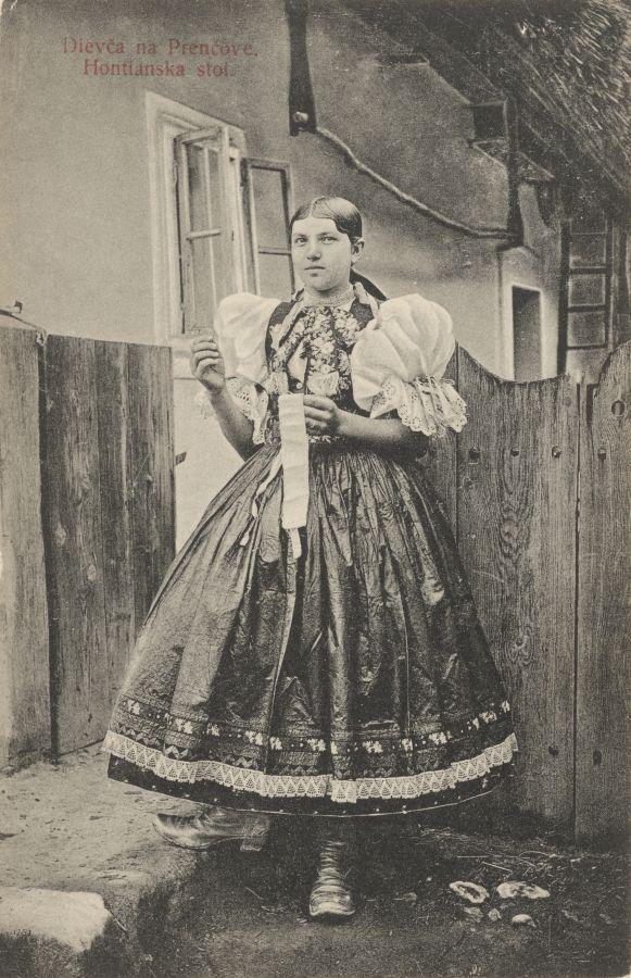 Pavol Socháň: Dievča v Prenčove 1912, Slovakia