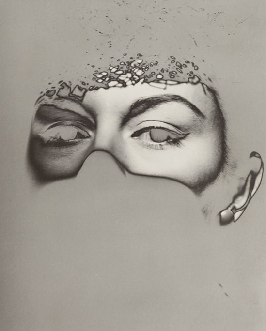Erwin Blumenfeld. Solarized eyes 1935. Via thesip.org