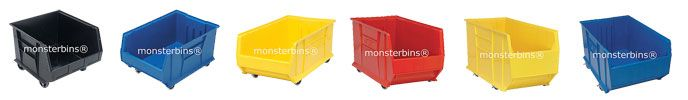 Mobile Storage Bins - Plastic Bins on Wheels from Monster Bins.  We have a low price guarantee on all mobile storage bins and containers!  View our selection here: http://monsterbins.com/Blog/Mobile_Storage_Bins/  #plastic #bins #storagebins #storage #mobile #transport #stackable #deals #coupons #onsale #discount
