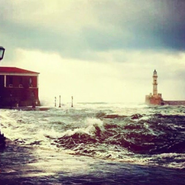 Old Harbour of #Chania #Greece  Photo credits: @vperdikas