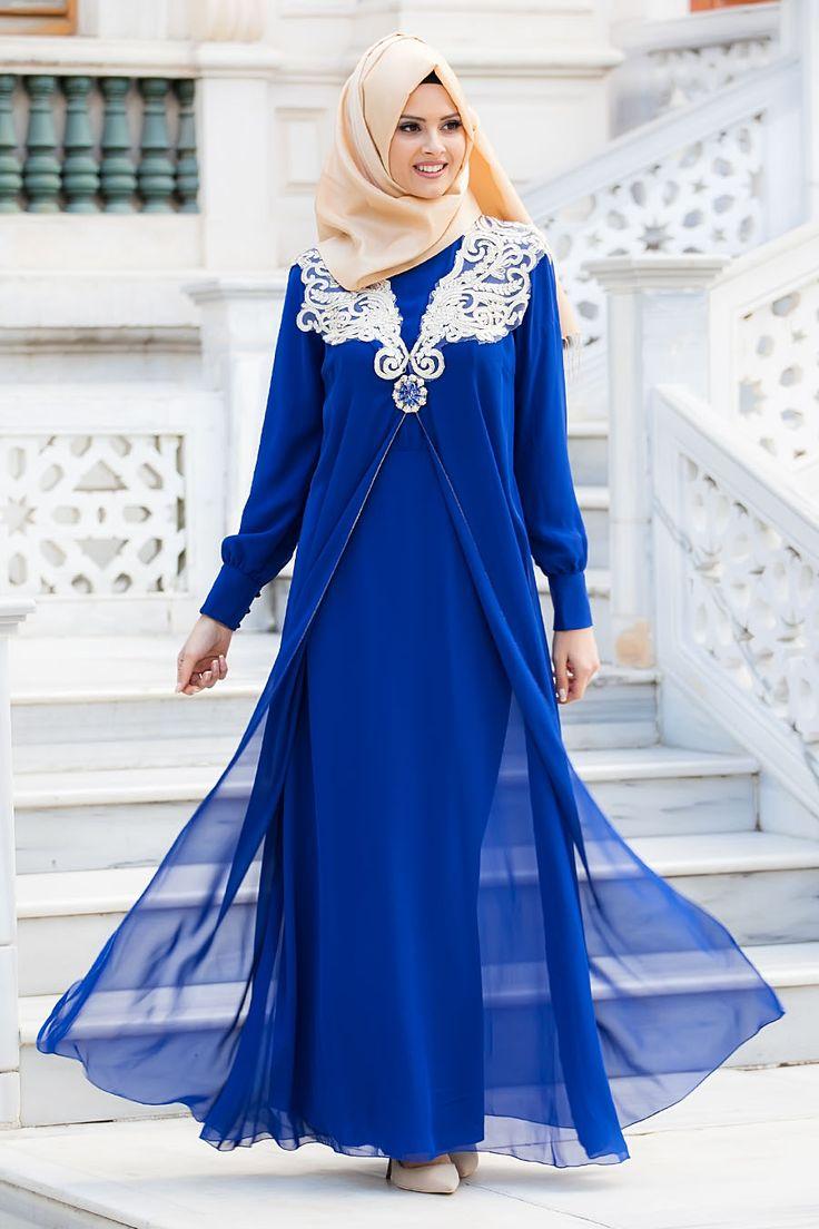 Tesettürlü Abiye Elbiseler - Tesetturisland.com