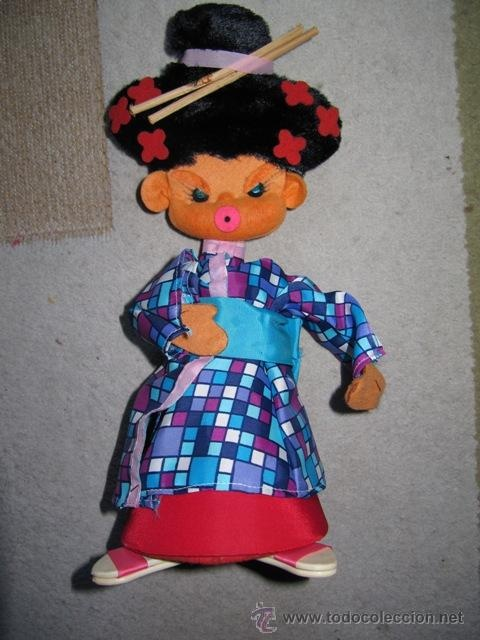 muñeca de fieltro: