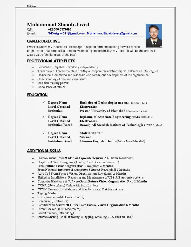 Cv Template Qatar Best resume template, Cover letter for
