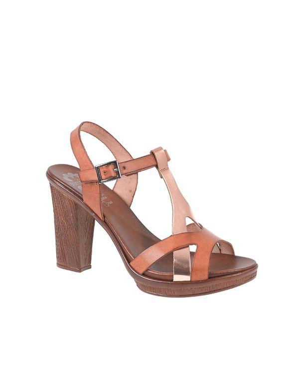 Sandalias de tacón de mujer Porronet