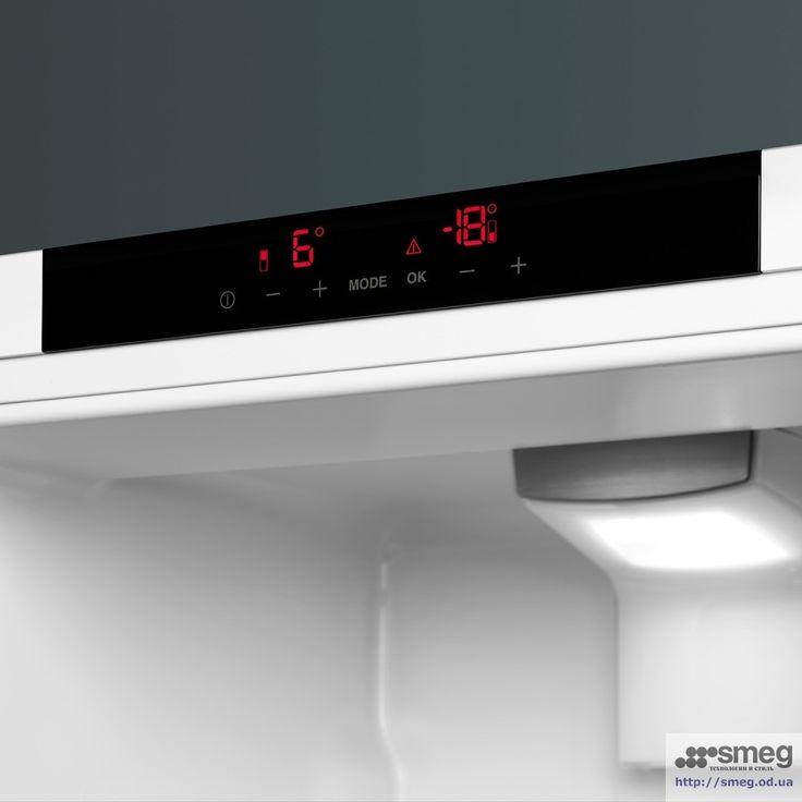 Новинка! Встраиваемый комбинированный холодильник SMEG C7280NLD2P