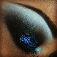 blue sparkles