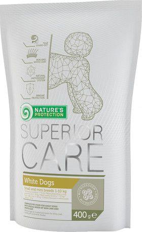 Kutyatáp fehér szőrre