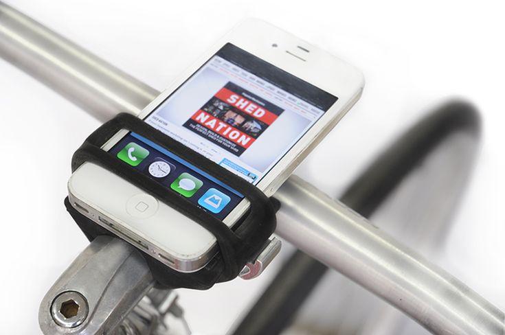 daniel haarburger: handleband smartphone bicycle mount