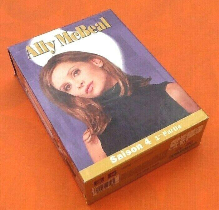 Coffret 3 Dvd Ally Mcbeal Saison 4 1ere Partie Ebay Saison 4 Dvd Titres De Films