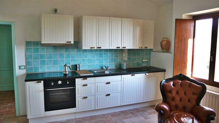 vacation rental kitchen at Alla Madonna del Piatto Assisi B&B, Vacation rental