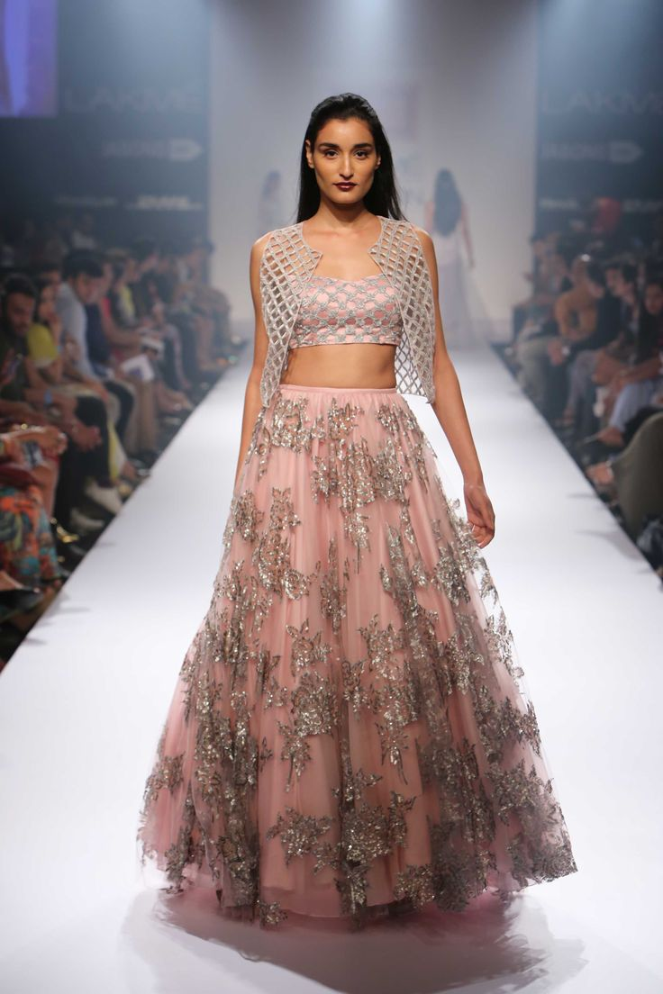Shehla Khan's collection 'Nouveau Victorian', which she presented at Lakme Fashion Week , offered lehengas and dresses in a modern avatar, with intricate detailing that makes them suitable for all kinds of celebratory occasions for modern brides.