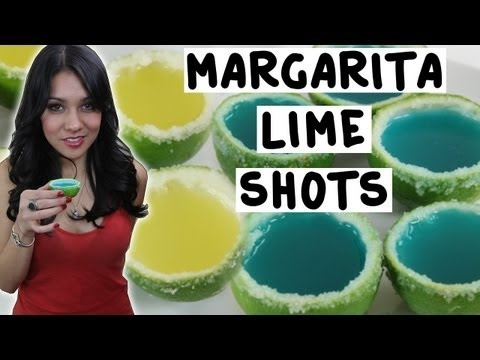 Margarita Shots in a Lime! - TipsyBartender