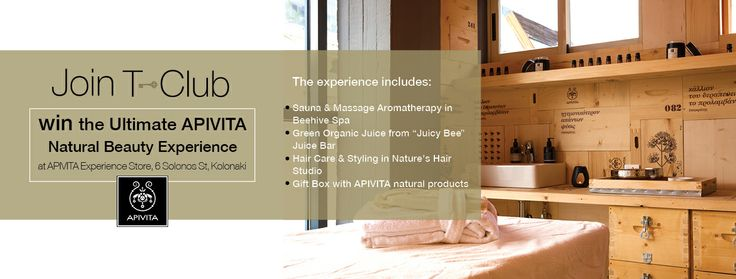 #WIN the ultimate #Beauty #Experience, at the #APIVITA Experience Store, in #Kolonaki, #Athens.How?https://www.facebook.com/tresorhotels/photos/a.472671602744931.110409.388716257807133/804629606215794/?type=1&theater