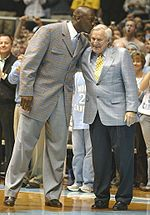 Dean Smith ~ honestly I cannot say enough about this man.  He taught me how you should treat others and how to earn respect.  You have to give respect in order to earn it!