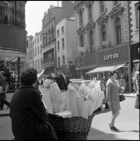 Grafton Street, Dublin 1960's.