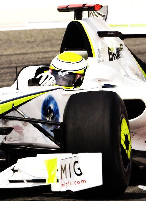 Jenson Button Brawn 2009