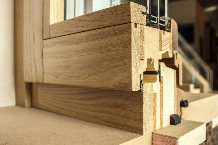 window technology wood&cork passivhaus detail ecomodular window