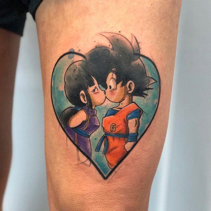 Ramón On Goku Y Milk Tatuajes Goku Tatuajes Dragones Y Tatuajes