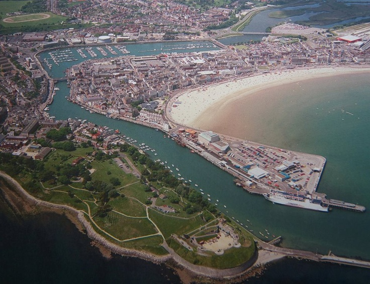 Ariel view of Weymouth
