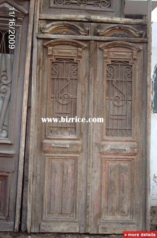 antique exterior double entry doors for home   architectural antique doors / Egypt Shutters for sale from a1egypt ...