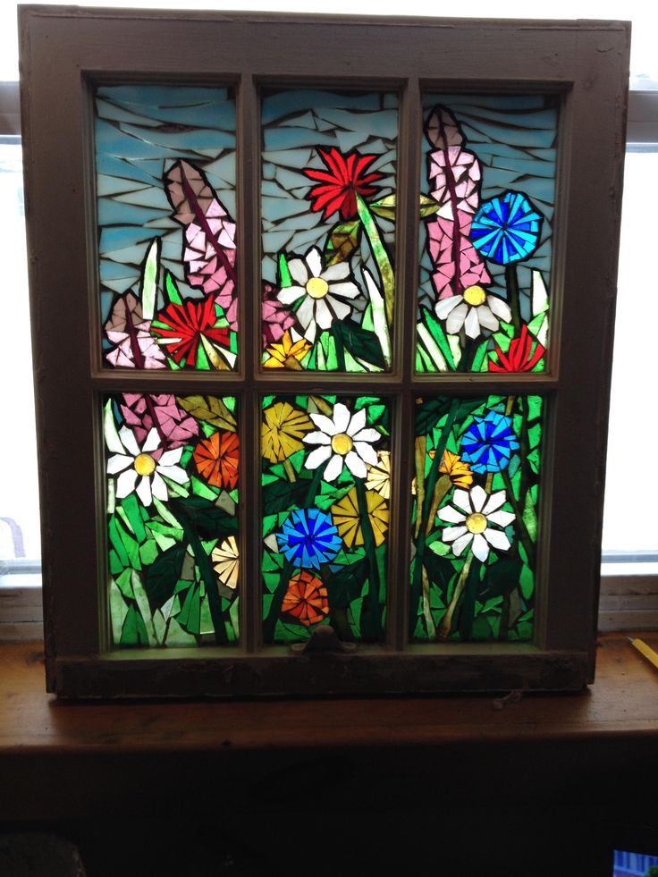 Flower Glass Mosaic Art | www.pixshark.com - Images ...