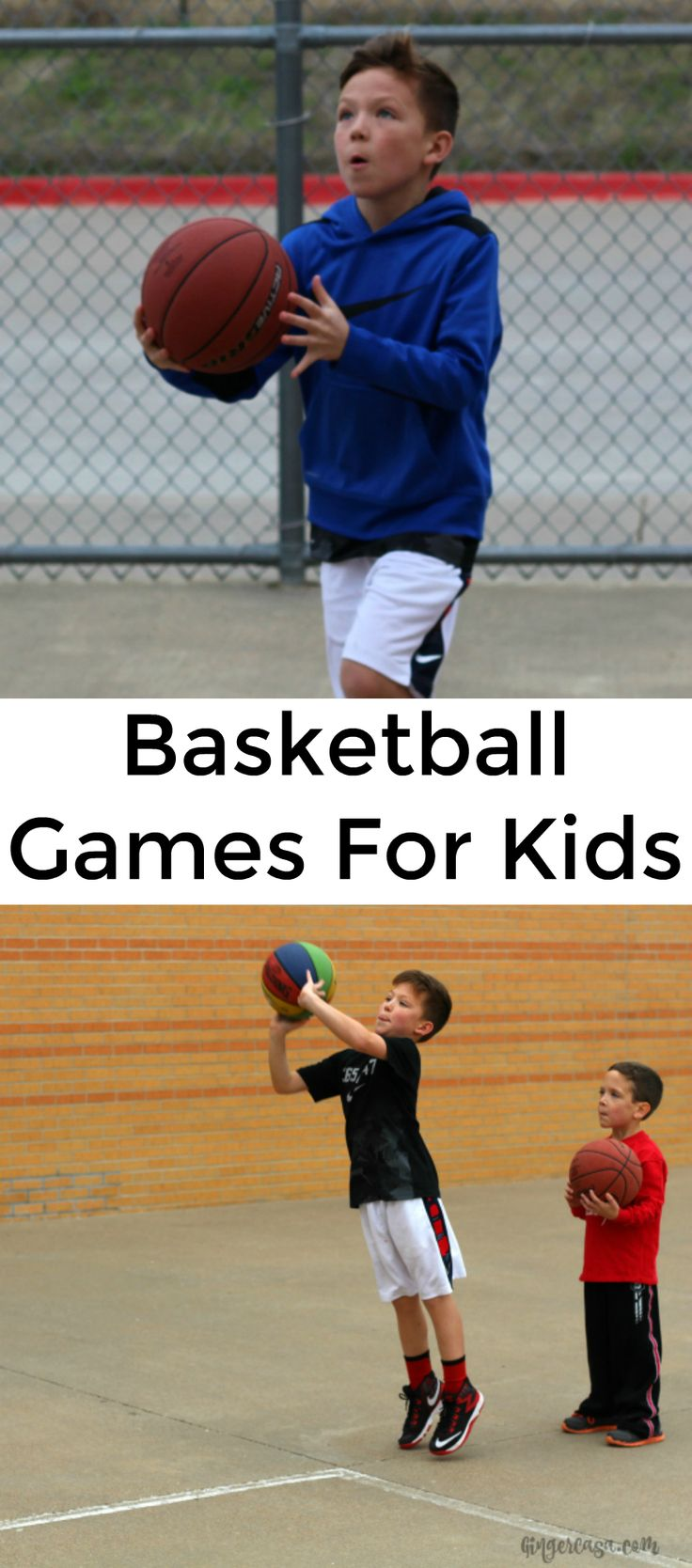 Have fun with the family and practice basketball skills at the same time with these basketball games for kids. Celebrate the winner with a DIY Snack Trophy!    [ad] #GameDayGoldfish