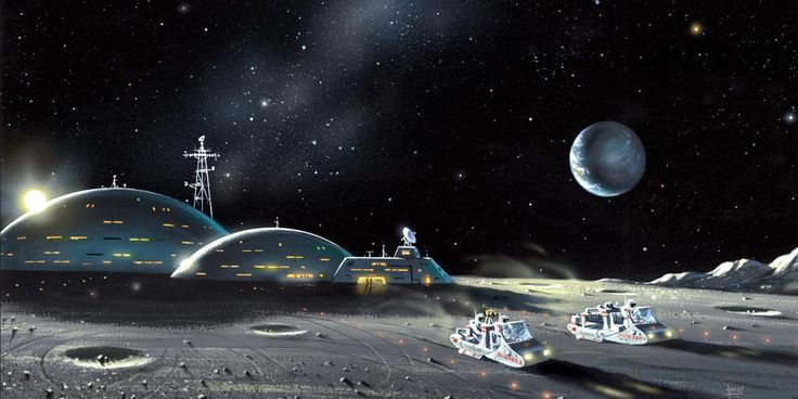 CITY ON THE MOON.  The new head of the European Space Agency has a plan – for humanity to build a 'village on the Moon'. Richard Hollingham asks him why.