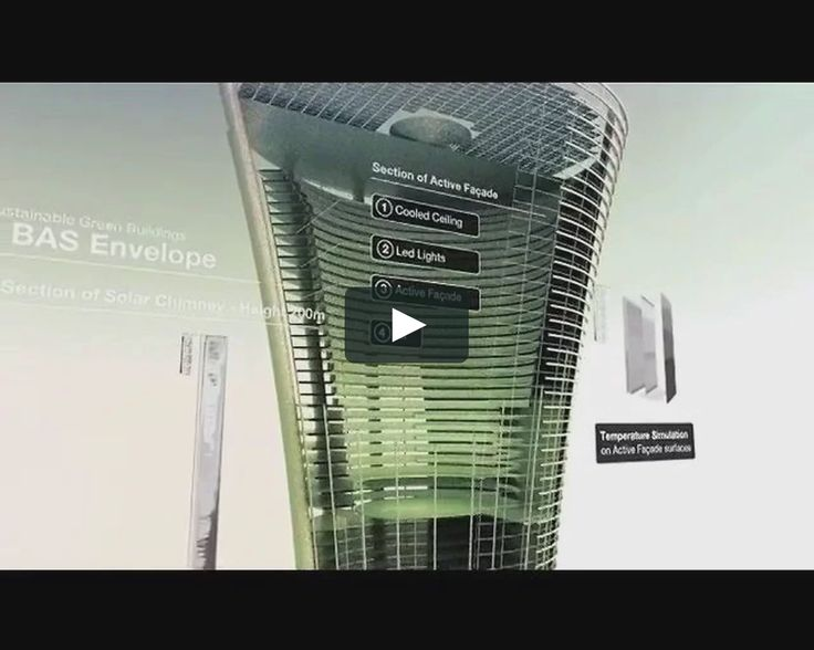 Burj Al Shams/Green Building  presentation video for a green building concept for a commercial building in Dubai. Nimrod Friedmann: concept design & animation Client:…
