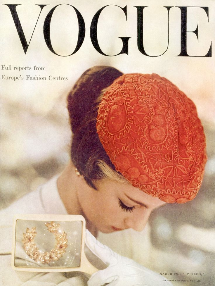 Vogue March 1956.