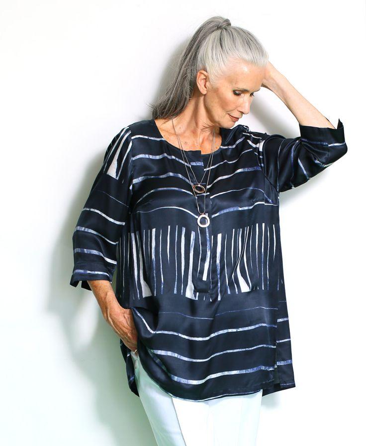 Seidentunika Art. 70877370 #ullapopken #selection #seide #woman #businesslook #fashion