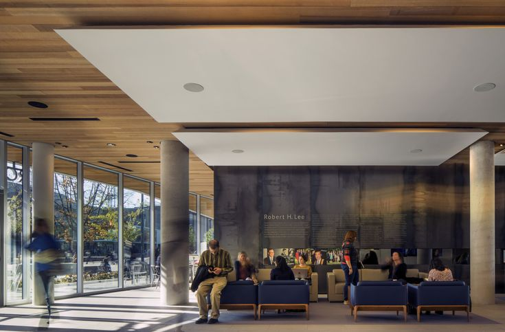 Image 2 of 17 from gallery of Robert H. Lee Alumni Centre  / KPMB Architects  + Hughes Condon Marler Architects. Photograph by Nic Lehoux