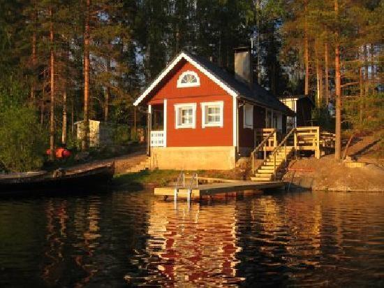Real Finnish sauna...I love summer!