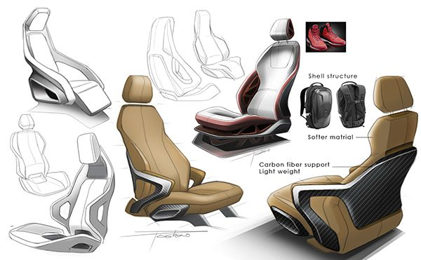 HONDA INTELLIGENT SPORTS by Po Wang, via Behance