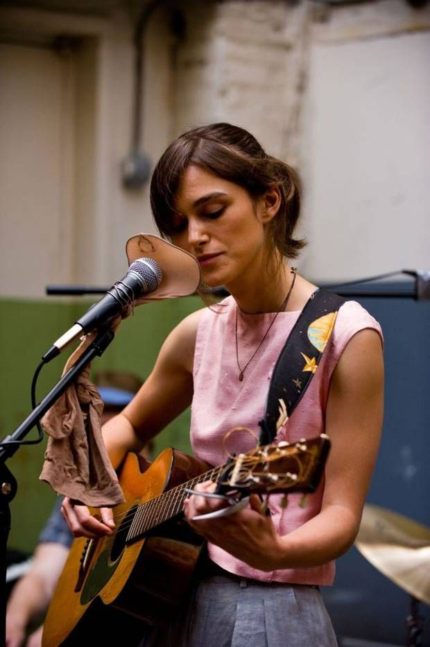 "Keira Knightley in ""Begin Again"" (Can a Song Save Your Life?) (2013). Director: John Carney."