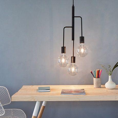 Cool Chandelier - Black by Frandsen Lighting #MONOQI