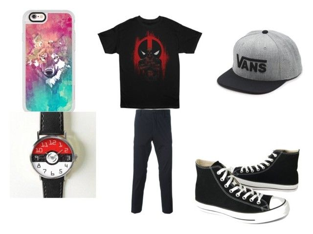 """Little 7 year old bro's"" by willowokimaw on Polyvore featuring Marvel, Paul Smith, Vans, Casetify and Converse"