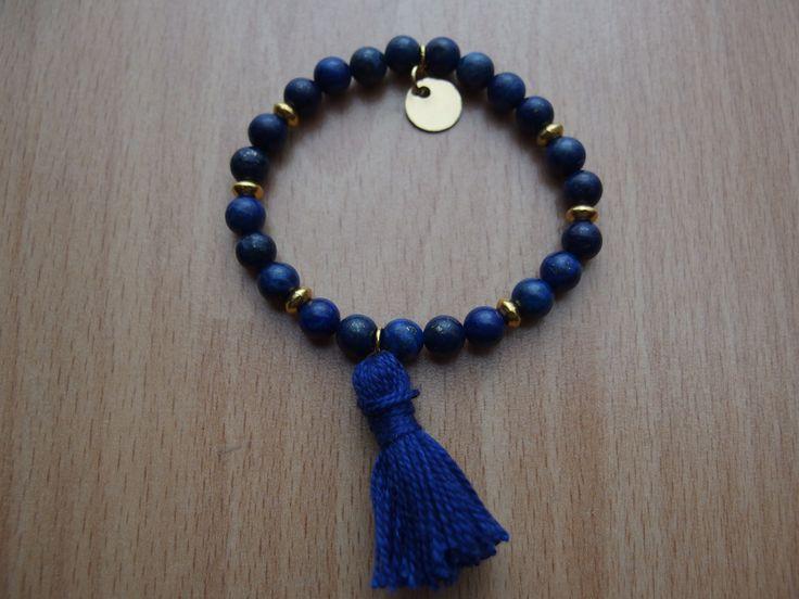 lapis lazuli with tassel