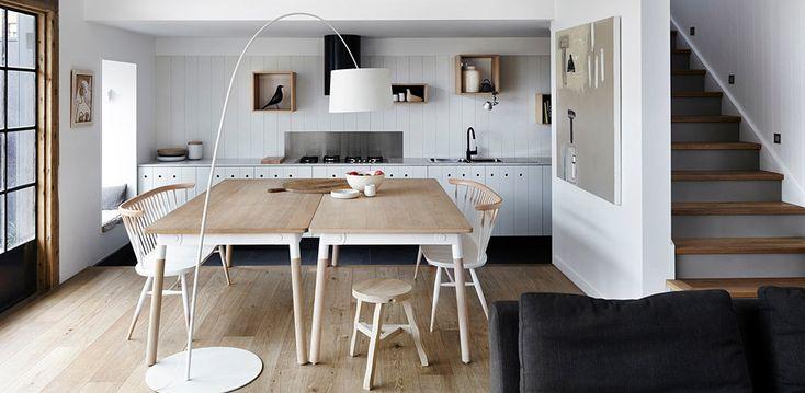 Dům nabitý skandinávským stylem