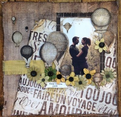 Jen Unger Fine Arts layout by Jen Unger using Prima Cartographer papers