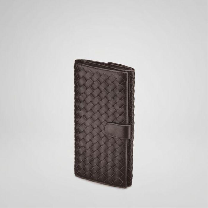 Bottega Veneta bags and Bottega Veneta handbags Bottega Veneta Ebano Intrecciato Nappa Continental Wallet III $243