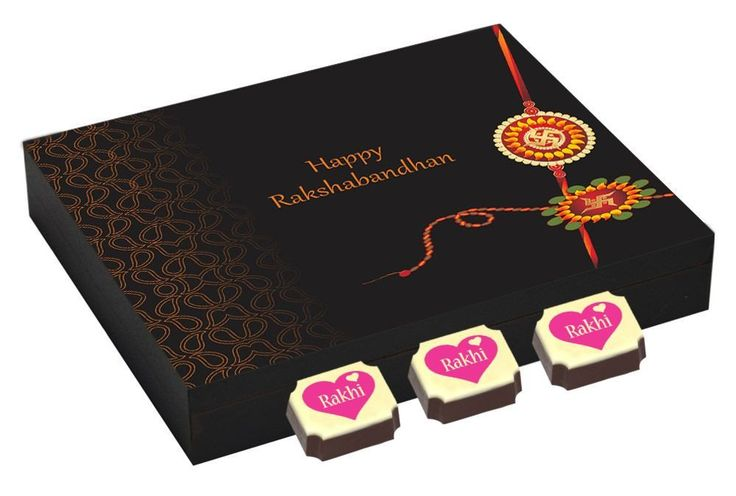 Online rakhi gifts - 9 Chocolate Gift Box - Send rakhi gift online with Rakhi