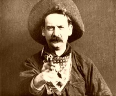 What Happened in the First Silent Movie, the Great Train Robbery?: Still from the 1903 film, The Great Train Robbery.